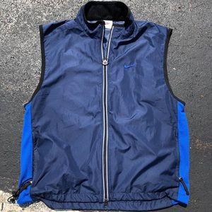 Vintage 90s Nike Vest Windbreaker Shirt Large